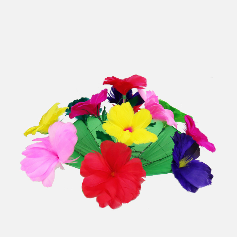 Magic feather flower/ umbrella to flower/ multicolor / stage magic tricks magic props perfect silk to ball red automatic ver3 trick silk magic ball magic magic tricks fire props comedy mental magic
