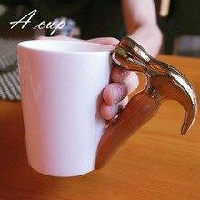 Nette karikatur zangen werkzeuge für männer und frauen weihnachtsgeschenk, Axt kaffeetasse keramiktasse
