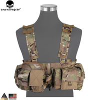 Emersongear UW Gen V Split Front Chest Rig Body Armor Airsoft Paintball Combat Molle Vest Tactical Chest Rig Multicam EM7451