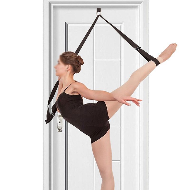 Sport yoga Einstellbare tür oberen bein neue yoga strap spannung band stretch gürtel mit baumwolle multi-funktion yoga gürtel seil 8