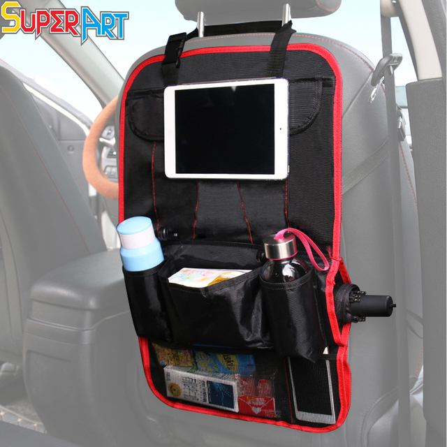 Car Use Seat Back Organizer Bottle Holder Multi pocket ...