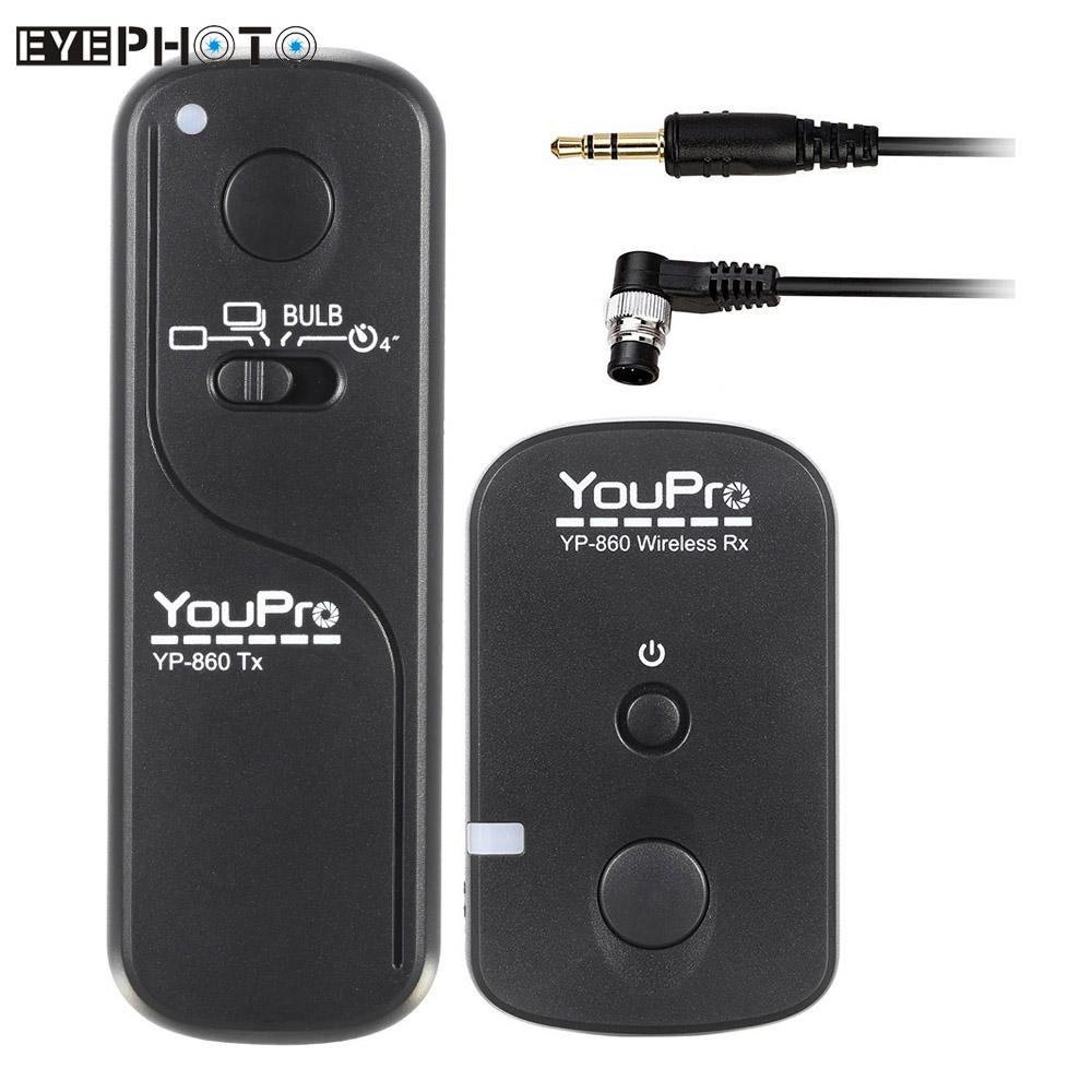 Camera Dslr Camera Remote Control popular dslr camera remote buy cheap lots from youpro yp 860 dc0 2 4g wireless control shutter release for nikon d300s d300