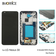 Replacement Parts For LG Google Nexus 5X H791 H790 H798 LCD Display Touch Screen Digitizer Glass Full Assembly With Frame lg смартфон nexus 5x h791 white 16gb
