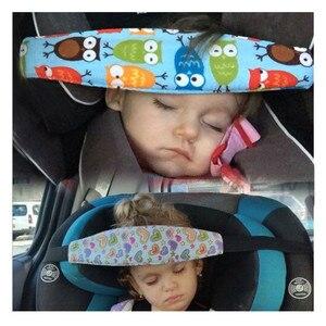 Image 5 - Fixing Band Baby Kid Head Support Holder Sleeping Belt Car Seat Sleep Nap Holder Belt Baby Stroller Safety Seat Holder Belt