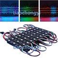 20 шт./компл. 12 В WS1903 5050 RGB светодиодный модуль светильник Magic Full Color SMD 3 светодиодный S черный