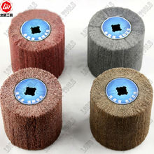 Spare polishing wheel of Electric wire drawing polishing machine for stainless steel mirror polishing treatment.