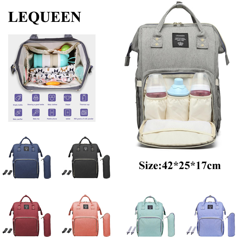 LEQUEEN Mummy Maternity Diaper Bag USB Charging Nursing Backpacks Large Mummy Nappy Bag Waterproof Mummy Maternity Nappy Bag