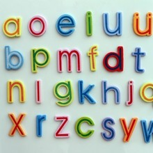 Childrens early education color wooden Chinese pinyin fridge magnets 26pcs/set 6*4.5cm free shipping