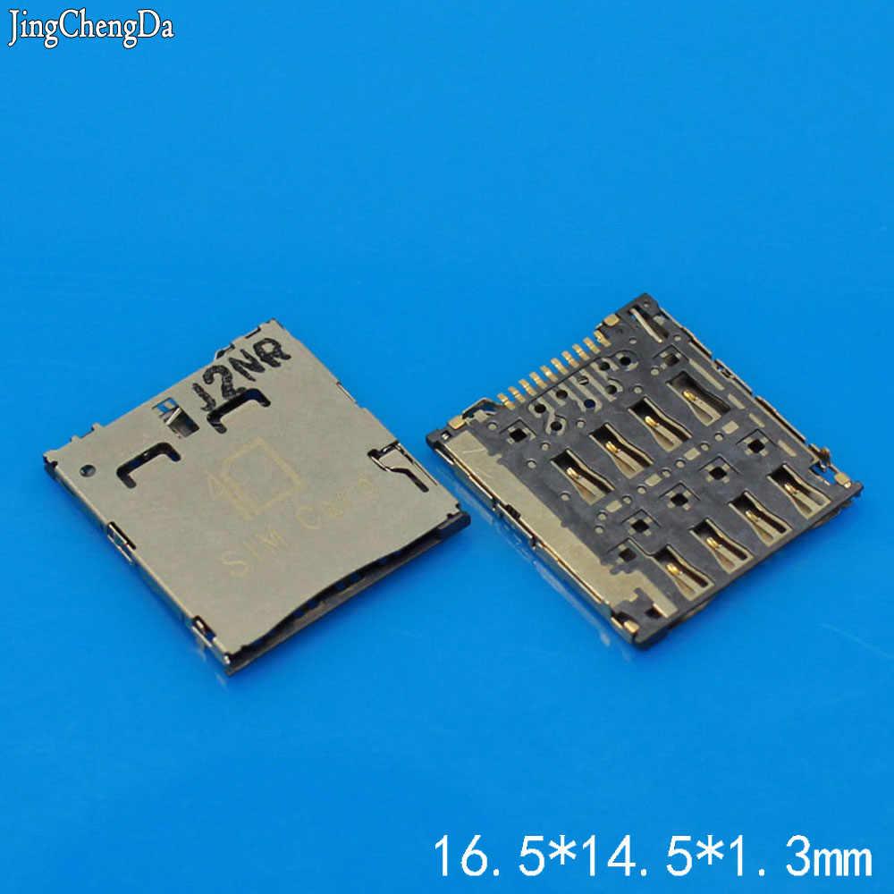 Generic YuXi 2PCS//lotSim Card Reader Socket for ASUS Fonepad 7 FE7010CG K004 Holder Connector Slot Tray Module