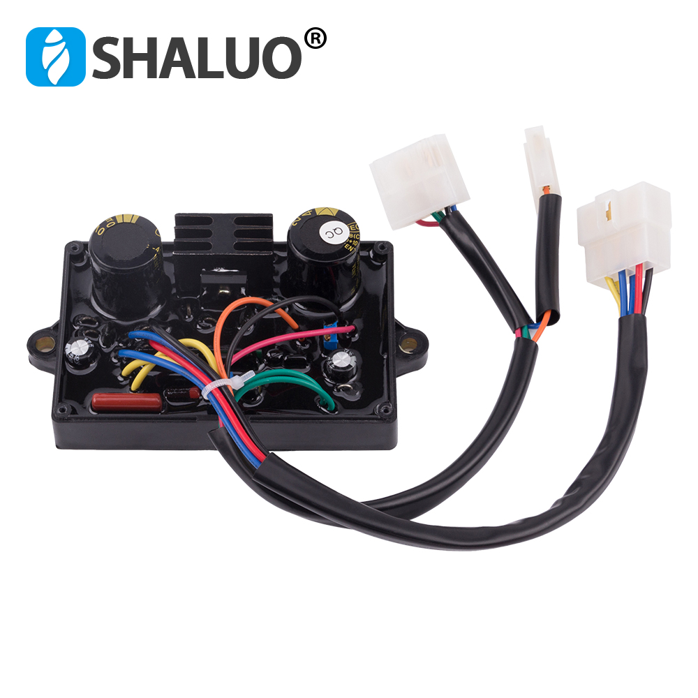 Parte gerador AVR estabilizador De Controle Poder Standy 5KW solda elétrica ac regulador de tensão Automática 5000 w HJ-5K110DH-1 13 fio