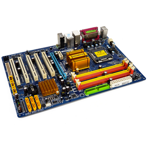 Image 2 - Gigabyte GA P43 ES3G REV 1.0 שולחן העבודה האם P43 ES3G P43 Socket LGA 775 עבור Core 2 DDR2 16G ATX מקורי בשימוש mainboard
