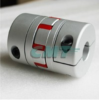 New No Gap Clamping Aluminum Alloys Plum Type Coupling For Servo And Stepper Motor Couplings D