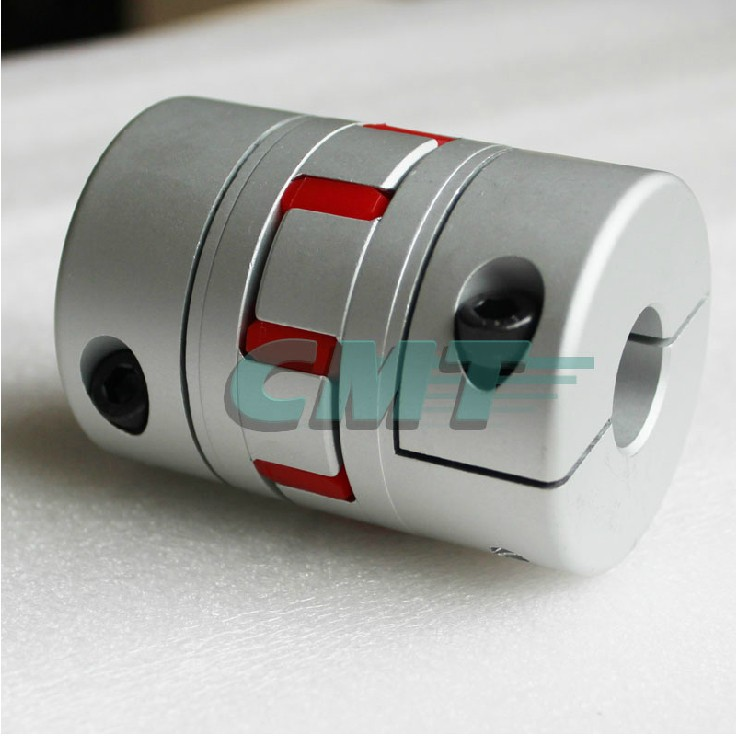 New No gap Clamping Aluminum alloys plum type coupling for servo and stepper motor couplings D=55 L=78 D1 and D2 are 10 to 30 new frame model aluminum alloys single diaphragm coupling fit servo and stepper motor shaft coupler d 68 l 54 d1&d2 at 15 25mm