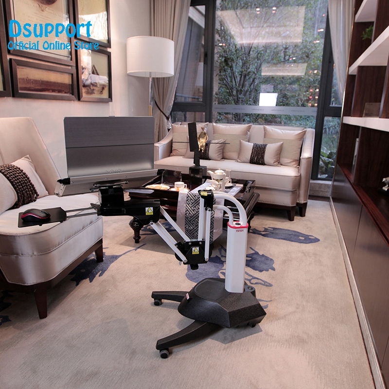 Full Motion Long Arm Multifunctional Moving Laptop Desk Sofa Bedside PS Stand Lazy Lift Mobile Computer Table in TV Mount from Consumer Electronics