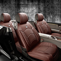 Caliente 3D Sport Car funda de asiento General de cojín, cuero superior, cubiertas de autos, coche que labra para BMW Audi HONDA CRV Ford Nissan Sedan
