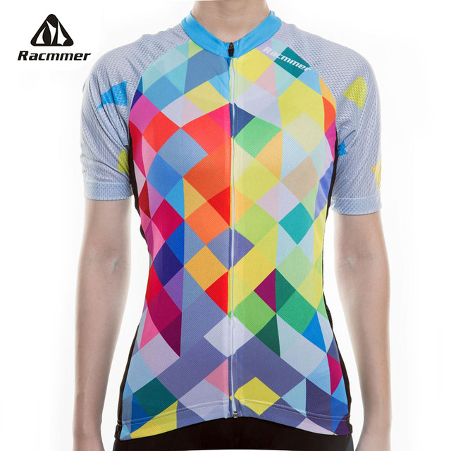 Racmmer 2019 New Breathable Cycling Jersey Women Summer Mtb Cycling  Clothing Bicycle Short Maillot Ciclismo Bike Clothes  NS-11 199764708
