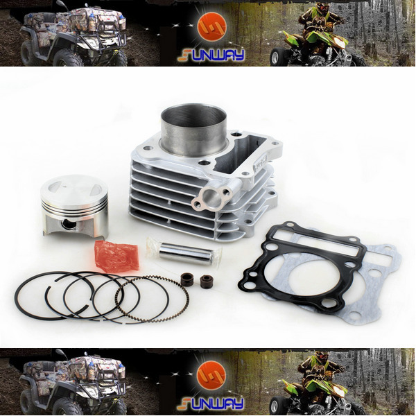 New 150CC 62MM Big Bore Kit for SUZUKI EN125 AN125 Motorcycle Necessary modification Free Shipping