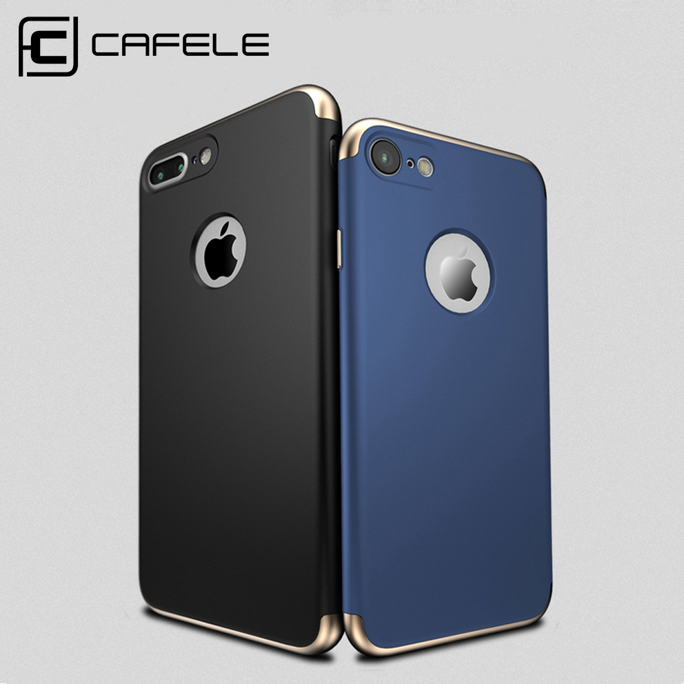CAFELE Simple Case for iPhone 7 Luxury Original Back Cover for iPhone 7 Plus Plastic Hard Armor Cover