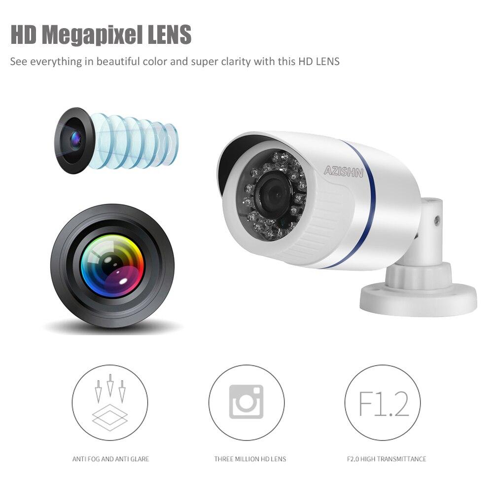 "HD 2MP IP Camera 1080P 1//2.9/""SONY sensor IMX323 6IR Waterproof Bullet ONVIF P2P"