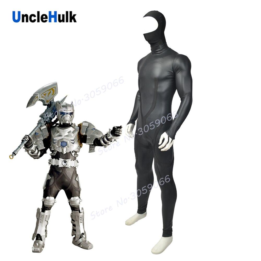 Armor Hero Rhino-Man Lycra Spandex Cosplay Costume Halloween Suit | UncleHulk