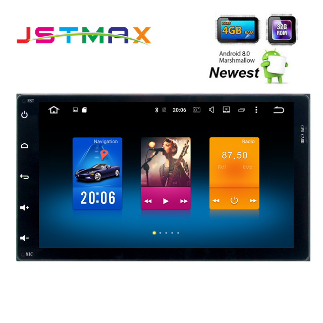 9 U0026quot Android 8 0 2 Din Stereo Head Unit Gps For Toyota Corolla 2017 Innova Estima Harriers