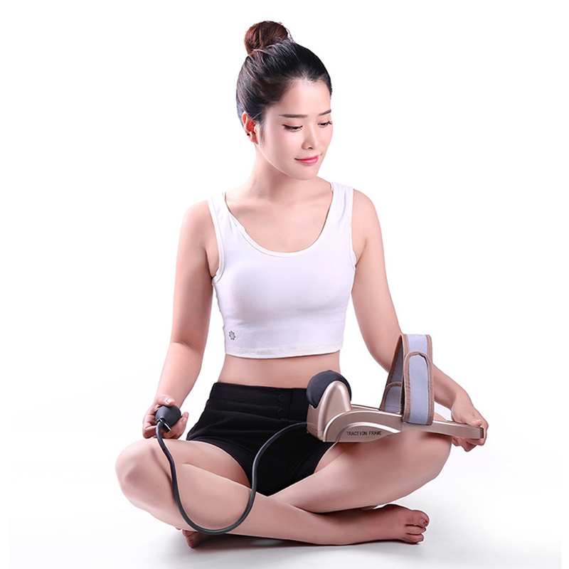 Image 2 - Neck Traction Cervical Posture Pump Air Filled Vertebra Correction Tractor Relaxing Massager Spine Muscle Relief Pain Device-in Neck Tractor from Beauty & Health