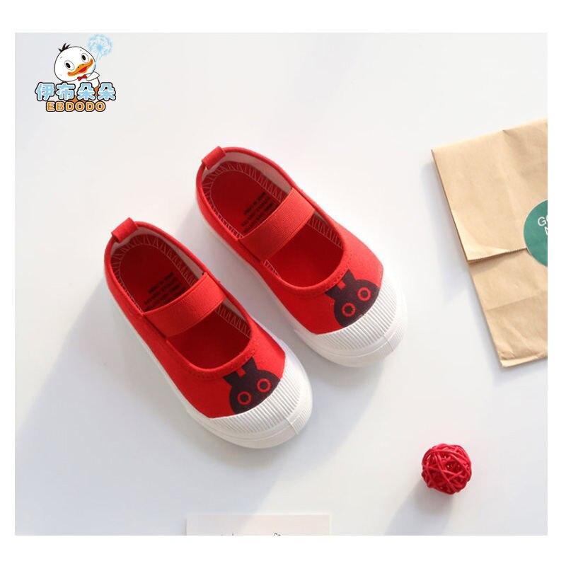 Ebdodo 2018 Kinderen Schoenen Canvas Schoenen Mode Cartoons - Kinderschoenen - Foto 1