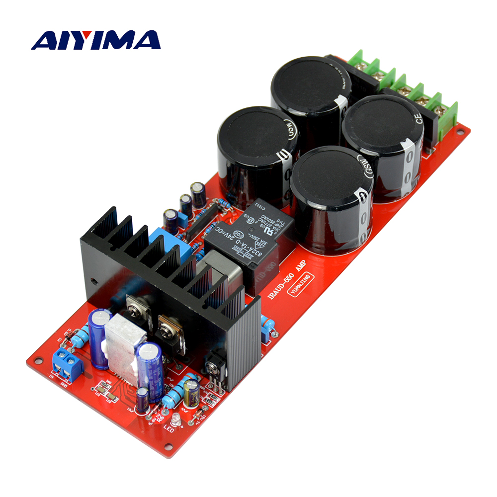 Aiyima IRS2092 IRFB23N15D Top Class D amplifier Mono 700w Audio digital Power amplifier board AMP board