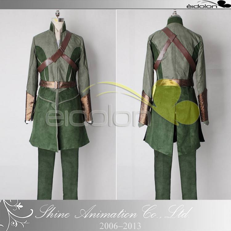 2015 Hot Sale halloween costumes for adult men the Lord of the rings The hobbit Thranduil Lee Pace Legolas cosplay costume