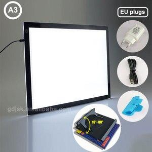 1 шт., A3, Светодиодные доски для отслеживания, супер тонкие световые прокладки, профессиональная анимация, Трассировка, световая панель, свет...