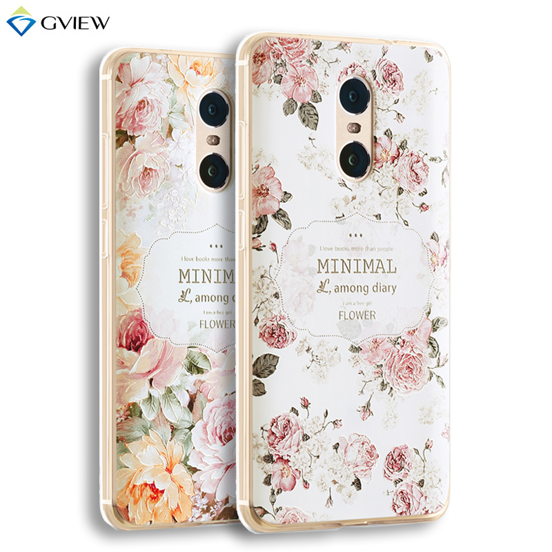 3D Relief Printing Clear Soft TPU Case For Xiaomi Redmi Note 4 Redmi Note 4 Pro