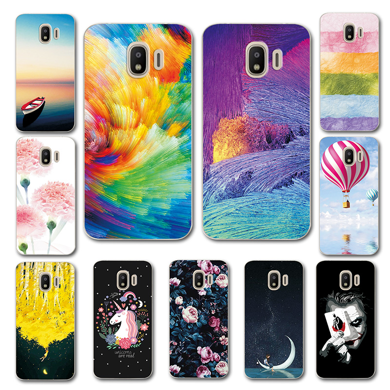 Cute Art Cases Coque For Samsung J2 Pro 2018 Flower Soft Silicone Novelty Phone Shell or Samsung J2Pro 2018 Back Cover Fundas