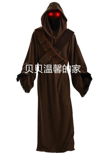 Hot Sale! Star Wars Jawa Adult Costume Custom made Halloween carnival cosplay costume
