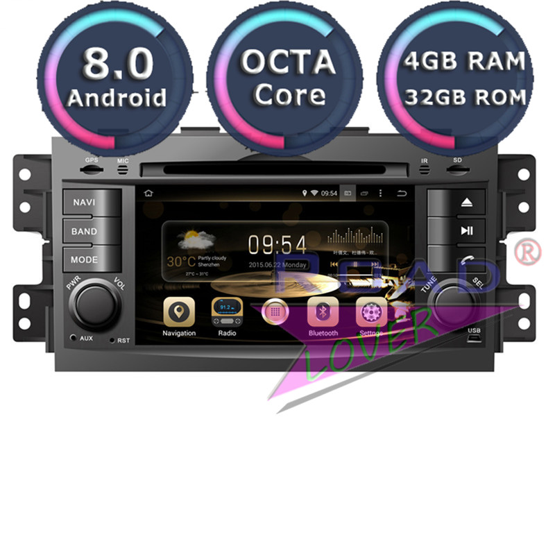 Roadlover Android 8.0 Car Multimedia DVD Player Autoradio For KIA Mohave Borrego 2008 Stereo GPS Navigation Magnitol 2 Din MP3