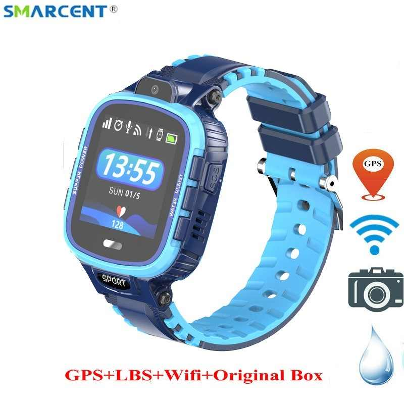 2019 New Kids Smart Watch IP67 Waterproof GPS LBS Wifi Camera Smartwatche WIFI Children Baby Sport Smartwatch Anti-lost pk df25