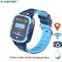 2019 New Kids Smart Watch IP67 Waterproof GPS LBS Wifi Camera Smartwatche WIFI Children Baby Sport Smartwatch Anti lost pk df25