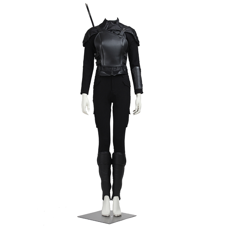 The Hunger Games Cosplay Costume Katniss Everdeen Cosplay Fire Girl Outfit Suit Coat Women Halloween Party