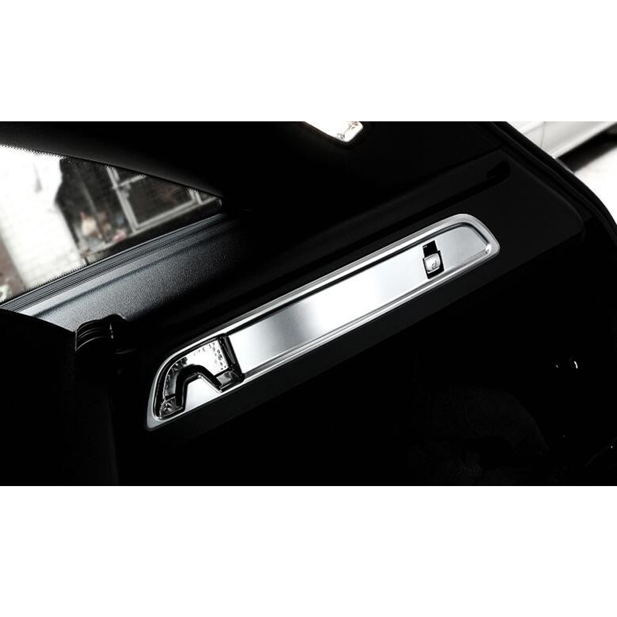 Car Interior Rear Trunk Hook Panel Cover Frame Trim Styling Sticker For Mercedes Benz GLC Class 200 260 300 2015 2016