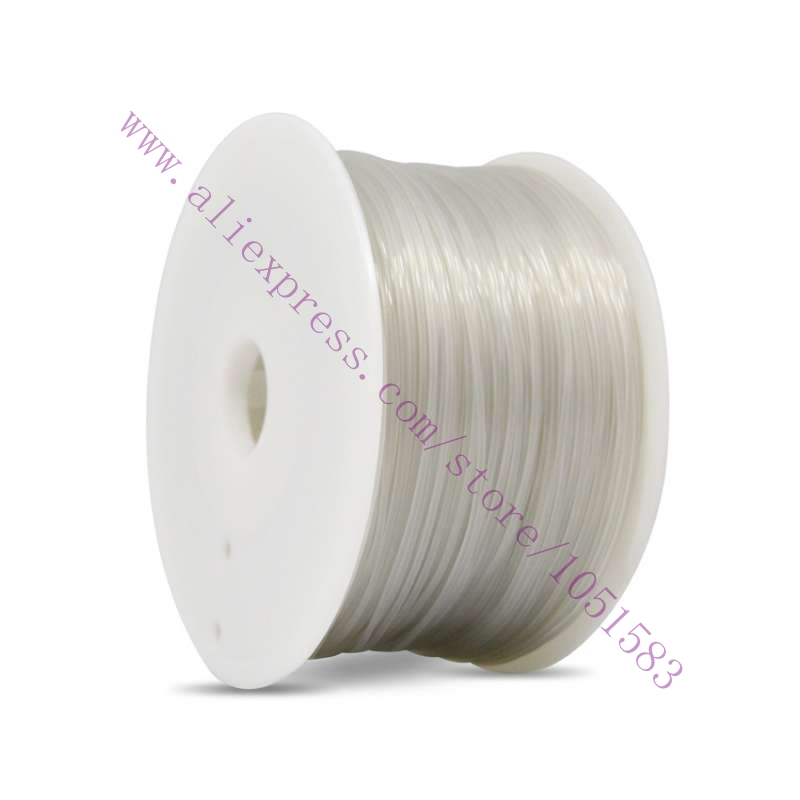 1.75mm Nylon PA Filament 1kg 7 colors to choose for 3D Printers Consuming Materials heacent p00gr 3d printers dedicated 3mm filament abs print materials golden 1kg