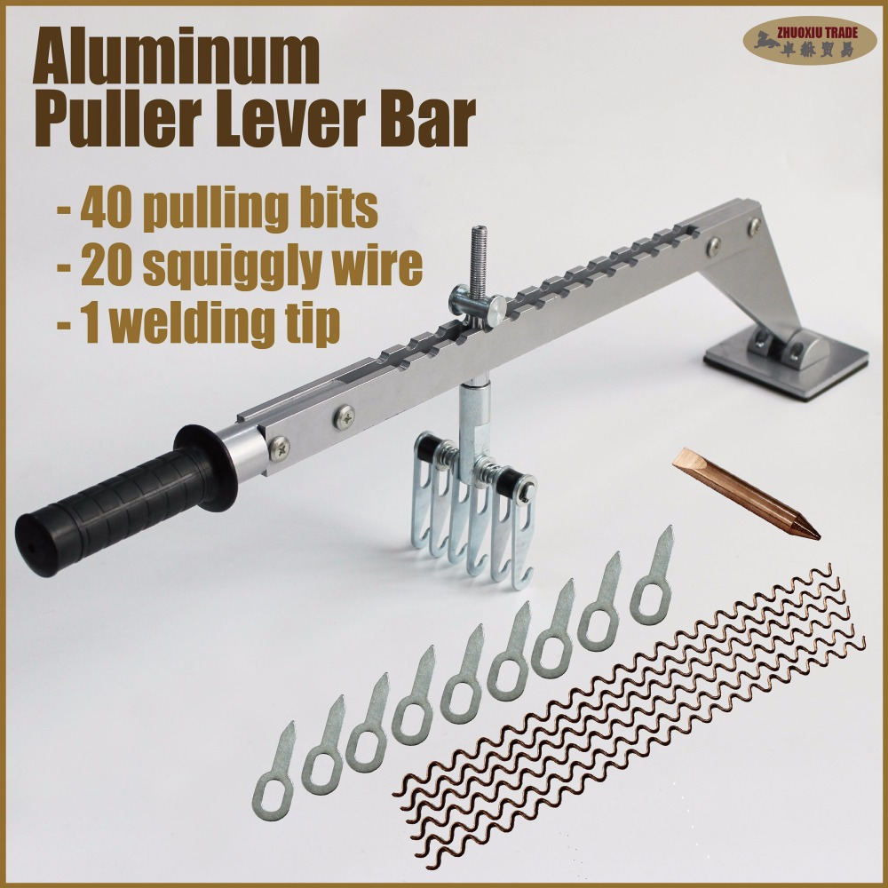 Aluminum body lift pulling bar kit spot welding dent repair garage aluminum body lift pulling bar kit spot welding dent repair garage tools remove hail miracle body works car workshop equipment in sheet metal tools set from sciox Gallery