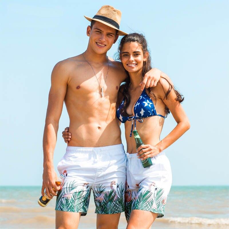 Baixnsj Mens Quick Dry Swim Trunk with Sun Hat