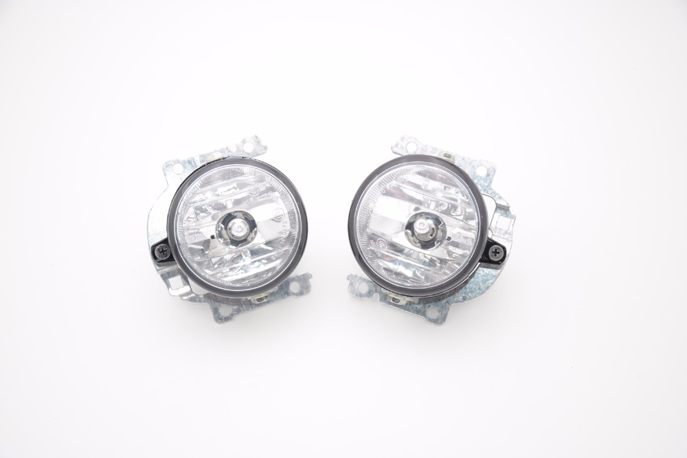 1Pair Car-styling Front Fog Lamp Driving Lights Fog Light with bulb For Mitsubishi Outlander 2016 53np 074 primary