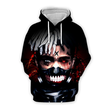 Newest Fashion xxxtentacion 3D Hoodie Sweatshirt Hip Hop Rapper Jahseh Dwayne Onfroy Printing autumn summer shirt