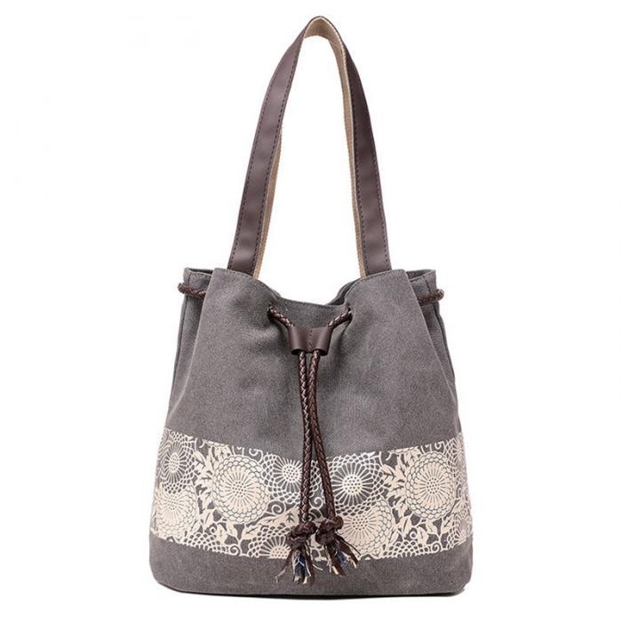 62926b2a4 DaWanda moda mujer bolsos de hombro bolsa de hombro bolsas de flores gran  capacidad lazo bolso casual bolso de compras