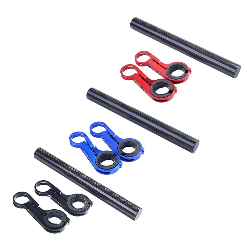 31.8MM Bike Flashlight Holder Handle Bar Bicycle Accessories Extender Mount Hold