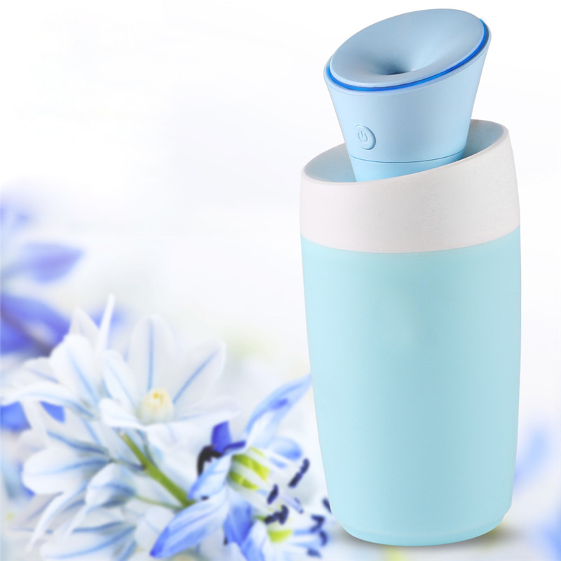 Mini Desktop USB Ultrasonic Air Humidifier removable lily Aroma Diffuser Car Home Office Mist Maker Fogger mini usb air humidifier star purifier aroma diffuser steam desktop cooling mist maker air fogger for office home