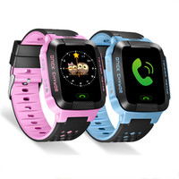 Kids Touch Screen Smart Watch Safe Tracker Camera LBS Location SOS Call Remote Monitor Flashlight Wristwatch
