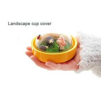 Creative Animal Landscape Ceramic Cup 2