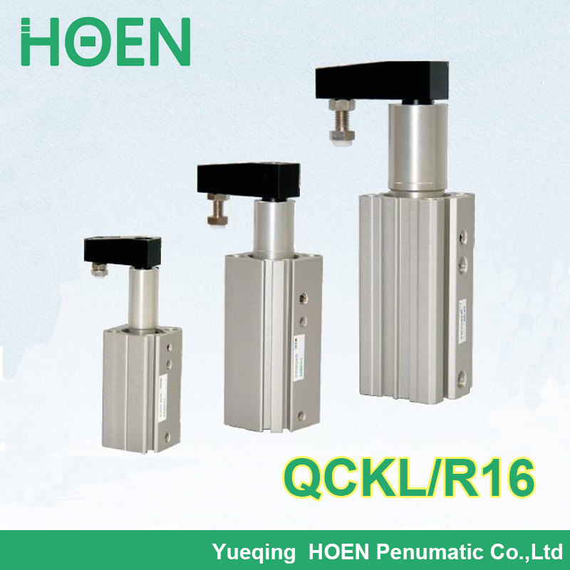 QCKL16-10 QCKR16-10 QCKL16-20 QCKR16-20 QCKL16-30 Airtac type Double Acting Rotary Clamp Cylinder QCK series pneumatic cylinder qckl63 20 qckr63 20 airtac type double acting rotary clamp cylinder qck series pneumatic cylinder