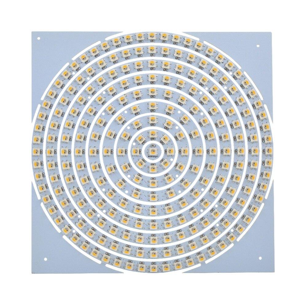 Mokungit expédition Rapide 5 pièces WS2812B Bague 241 SK6812 Peu L'anneau RVB RGBW LED Bague 5050 Intégré Conducteur DE RVB pour Arduino Type De Bande